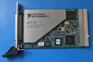National Instruments Ni Pxi 6071e 1 25 Ms s Multifunction I o 64 Analog Input 12
