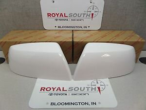 Toyota Tundra Super White Mirror Covers Kit Genuine Oe Oem