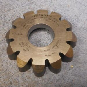 Gear Shaper Cutter Fellows 3 4 Circular Pitch Sprocket 3