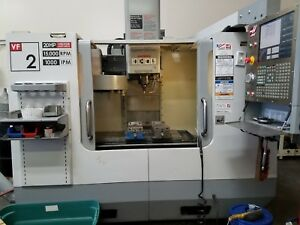 Haas Vf2 Vertical Machining Center 2006 15 000 Rpm