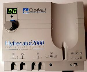 Conmed Hyfrecator 2000 Electrosurgical Model 7 900 115 115 Volts Ac 50 60hz