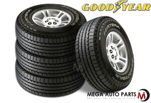 4 New Goodyear Fortera Hl P255 65r18 109s All Season Traction Tires