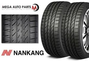 2 New Nankang Ns 25 All Season Uhp 255 35zr19 96y Xl Tires