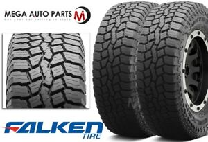 2 New Falken Rubitrek A T 265 70r16 112t Snow Rated All Terrain Tires