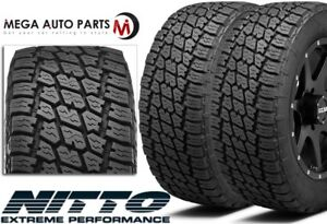 2 New Nitto Terra Grappler G2 Lt285 70r17 E 10 121 118s All Terrain Radial Tires