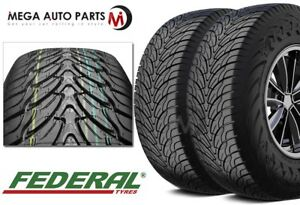 2 Federal Couragia S U 275 45r20 Tires