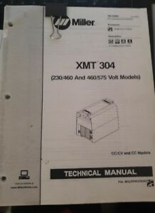 Miller Xmt 304 Technical Manual June 2005