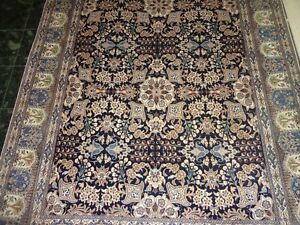 Hand Knotted Carpet Wool And Silk Naein 6 Laa 5 7 X 8 8