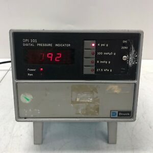 Druck Dpi 101 2 chan Digital Pressure Indicator Tested 1
