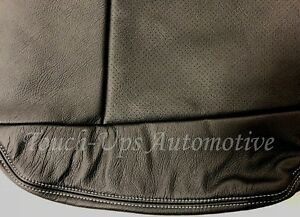 2015 2018 Ford F 150 Xl Supercrew Alea Black Gray Stitching Leather Seat Covers