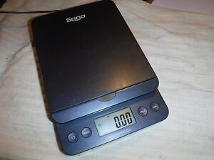 Saga Postal Scale 66lb Digital Shipping Scale Weight Postage W ac New 3272 N