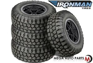 4 New Ironman Country M T 33x12 50r15 6 108q Owl Terrain Mud Tires