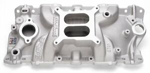 2701 Edelbrock Performer Eps Chevy Small Block 4 Barrel Aluminum Intake Manifold
