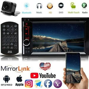 Car Radio Bluetooth Stereo For 02 03 04 05 06 Ford Expedition Explorer Lincoln