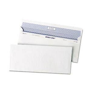 Reveal N Seal Business Envelope 10 4 1 8 X 9 1 2 White 500 box 67218 1