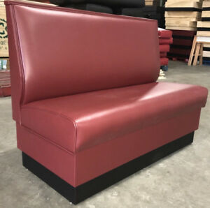 Commercial Restaurant Booth Furniture wall Bench 42 High 3ft 9ft Long