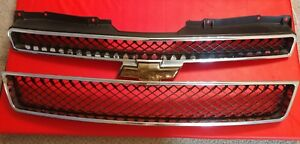 2007 To 2014 Suburban Tahoe Avalanche Upper Lower Grille 07 08 09 10 11 12 13 14