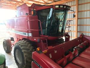 1996 Case Ih 2188 Combine 5183 Engine Hrs 3651 Separator Hrs 4 Wheel Drive