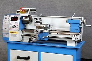Weiss Wbl 210v Bench Top 8 X 16 Lathe With Digital Readout Threading Dial