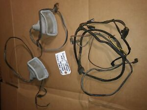 Vintage 1959 Ford Edsel Ranger Front Turn Signal Set Pair