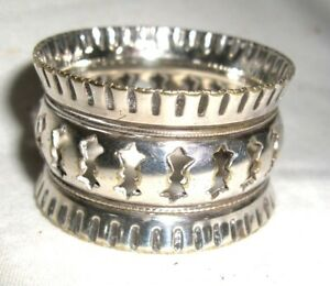 Vintage Silver Plated Napkin Ring