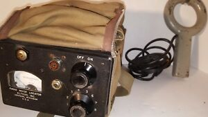 Vintage Radio Noise Locator Military Memorabilia Rare Look