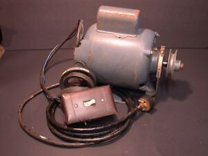 Westinghouse South Bend Atlas Logan Metal Lathe 115v Motor