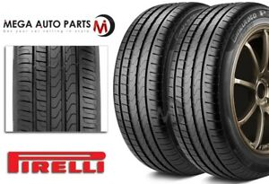 2 New Pirelli Cinturato P7 205 55r16 91w Rf High Performance Tires