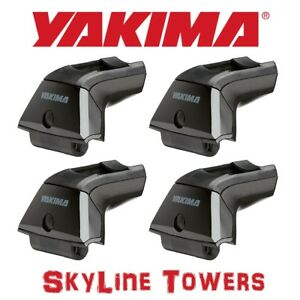 8000148 Yakima Skyline Roof Rack Towers For Landing Pads 4 Pack
