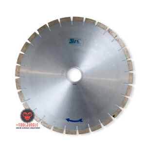 14 Inch Super Bridge Saw Silent Core Blade Made In Italy Formulated For Quartz