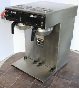 Bunn Cw Series Coffee Maker And Warmer Model Cwtf Twin aps 220 Direct Waterline