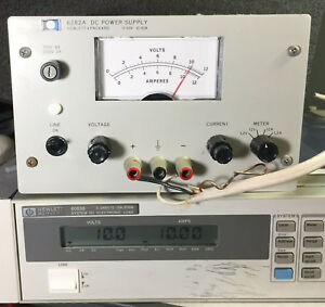 Hp 6282a Variable Dc Power Supply 0 To 10v 10a Load Tested