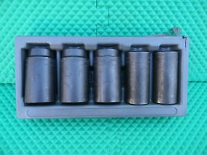 Snap On 29mm 36mm 1 2 Drive Deep Impact Socket 5 Piece Set Pakty 097