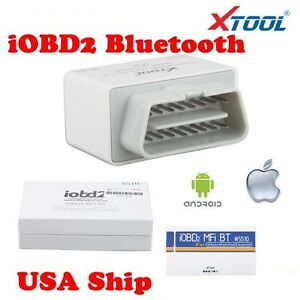 Usa Ship Iobd2 Bluetooth Obd2 Eobd Auto Scanner For Iphone android By Blu