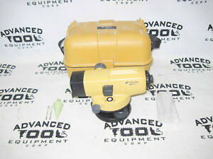 Topcon At b3 28x Autolevel Automatic Auto Level Transit W Carrying Case