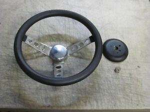 Grant Universal 3 Spoke Steering Wheel Ford Chevy Dodge Hot Rat Rod