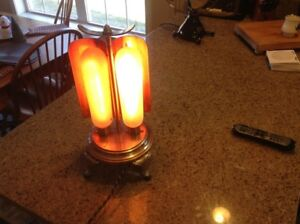 Antique Ge Type A23 Electric Heater With Three Working Bulbs