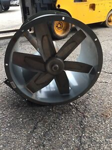 Dayton Model 3c411a Tube Axial Exhaust Fan