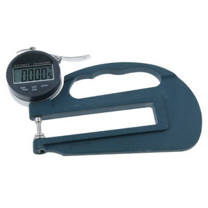 0 01mm Digital Thickness Gauge Meter 12 7mm Lcd Electronic Dial Throat 120mm
