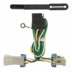 55359 Curt 4 Way Flat Trailer Wiring Connector Harness Fits S10 Hombre Sonoma
