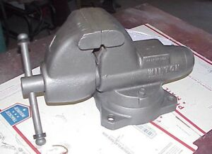 Vintage Wilton Bullet Vise 60176 With 4 Jaws And Pipe Jaws Sn 101169