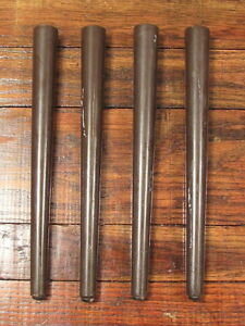 Set Of 4 Vintage Mid Century 14 1 4 Wooden Table Legs Re Purpose Upcycle
