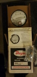 Nos Lot Of Dwyer 2 0 15 2 0 30 Magnehelic Differential Pressure Gauge