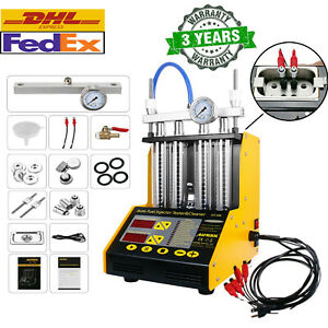 Autool Ct150 Car Motor Ultrasonic Gasoline Fuel System Injector Cleaner Tester
