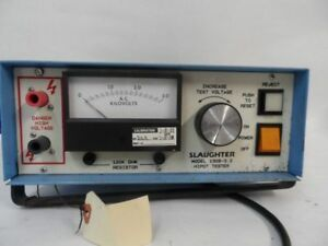 Slaughter Hipot Tester 1306 3 0 Great Condition