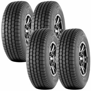 4 New Westlake Radial Sl309 Lt215 75r15 Load C 6 Ply A t All Terrain Tires