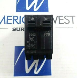 General Electric Thqb2120 Circuit Breaker 2 Pole 20a 240v lot Of 3