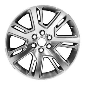 New 22 X 9 Replacement Wheel Machined And Silver 4738