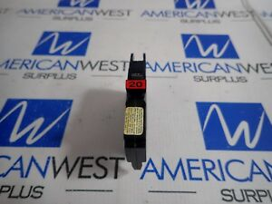 Federal Pacific Nc120 Circuit Breaker 1 Pole 20a 240v lot Of 5