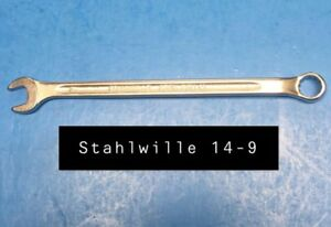 Stahlwille 14 9 Wrench Long Combination Open Box 9mm Type 14 155mm Long